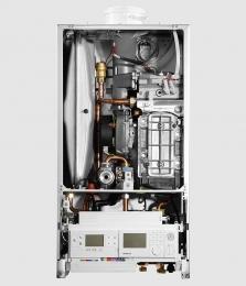 Настенный газовый котёл Buderus Logamax plus GB172-24 i (черный) фото 3
