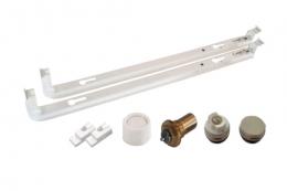 Viessmann Монтажный комплект для вентильного (нижнего) подключения радиаторов высотой 500 мм. фото