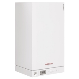 Viessmann Vitopend 100-W 34,0 кВт (закр. Одн.) + бойлер Vitocell 100-W CUG 100 л. + коак. дымоход фото