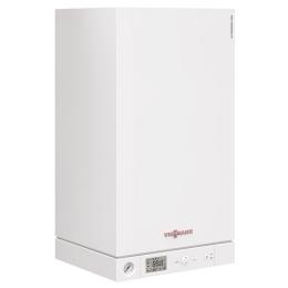 Viessmann Vitopend 100-W 24,0 кВт (закр. Одн.) + бойлер Vitocell 100-W CUG 150 л. + коак. дымоход фото