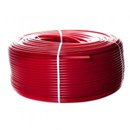 Stout Труба PE-Xa/EVOH d16x2 из сшитого полиэтилена с антидиффузионным слоем, для напольного отопления, красная - бухта 500 м фото
