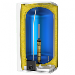 Электрический накопительный водонагреватель Atlantic Steatite Cube 100 л фото 2
